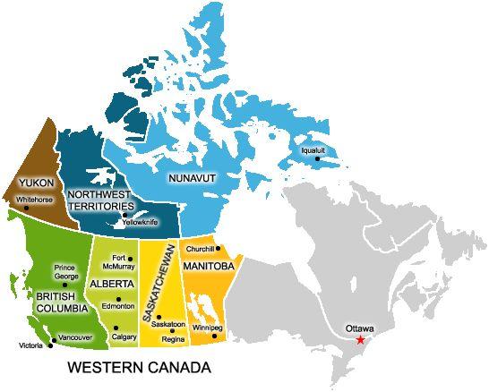 Carte Canada Les Rocheuses.Decouvrez L Ouest Canada Et Les Rocheuses Canadiennes