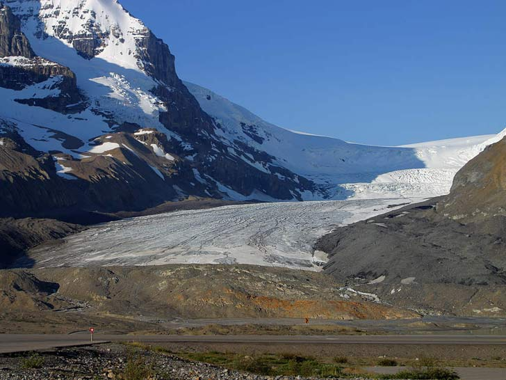 photo Icefield-Parkway rocheuses