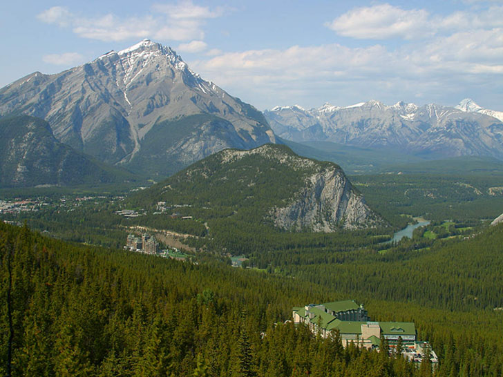 photo Banff rocheuses